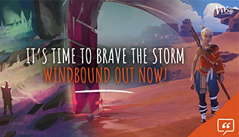 Windbound, the new survival-crafting, open-world role-playing game, has launched digitally today on PlayStation 4, Xbox One, Nintendo Switch, Google Stadia and PC – via Epic Games Store & Steam